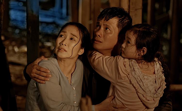 Ốc Thanh Vân, Võ Thành Tâm đóng cặp vợ chồng chạy trốn trong phim.