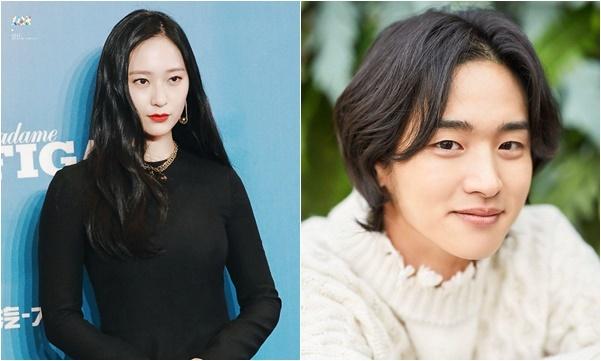 Krystal hợp tác cùng Jang Dong Yoon trong phim mới.