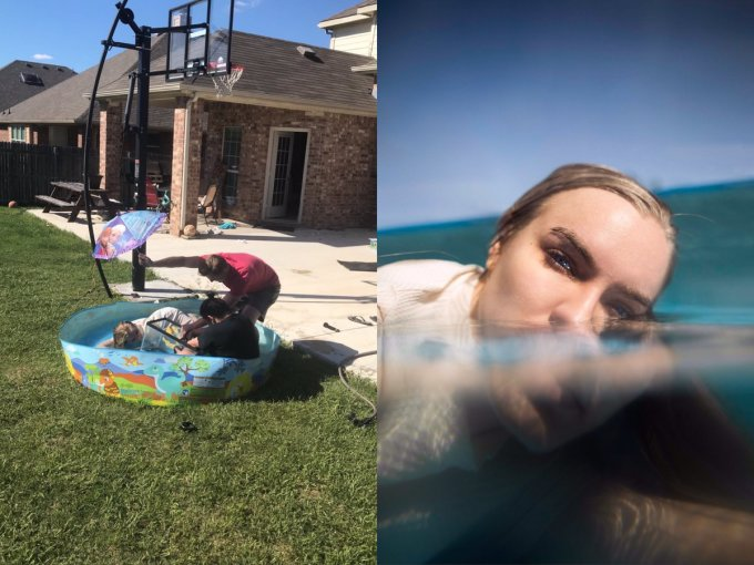 <p> Trời nắng đẹp, chiếc bể bơi mini và bạn biến hóa thành nàng tiên cá dưới nước - vẻ đẹp bí ẩn khó cưỡng.</p>