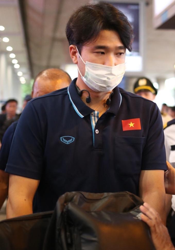 <p> Park Sung Gyun (sinh năm 1990) - HLV thể lực của đội tuyển U23 Việt Nam.</p>