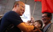 Thầy Park được chào đón khi về Việt Nam dù thua cuộc