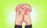 Tiết lộ tính cách qua cách bắt chéo ngón tay