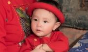 Con gái Trà Ngọc Hằng chụp ảnh Tết