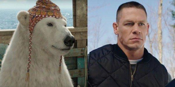 Cựu đô vật John Cena lồng tiếng cho gấu Yoshi.