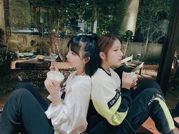 Eun Ha và So Won (GFriend)