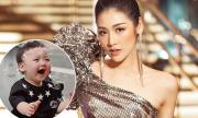 Á hậu Tú Anh: 'Tôi xin phép cả nhà chồng khi đăng ảnh con'