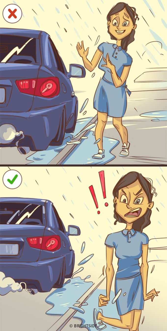 <p> Hãy nhớ, bạn có thể khiến bản thân vui vẻ, nhưng đừng kiềm chế sự tức giận (khi cần).</p>