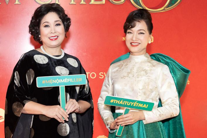 Mệ nội Hồng Vân và mẹ chồng Lê Khanh là những diễn viên gạo cội được chọn mặt gửi vàng trong dự án.