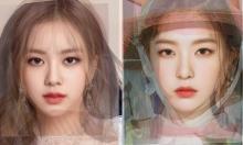 Nhan sắc trung bình cộng của thành viên nhóm nữ Kpop