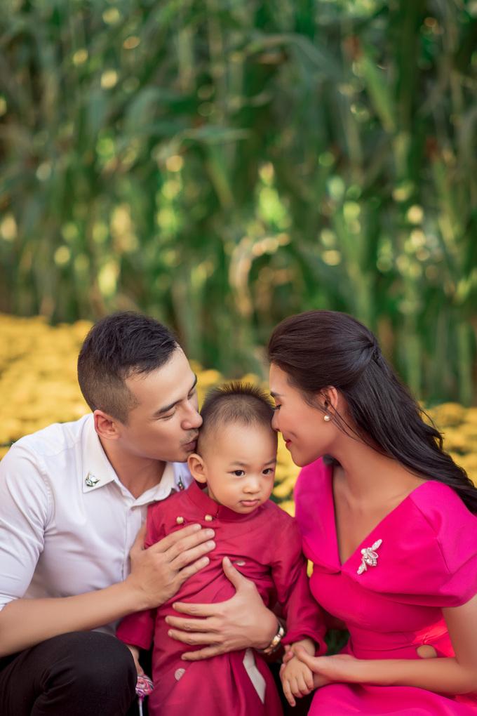 <p> Khoảnh khắc hạnh phúc của gia đình.</p>