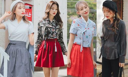 101 cách biến hanbok thành đồ dạo phố cực xinh của gái Hàn