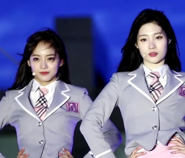 Khi Se Jeong và Jung Chae Yeon đứng cạnh nhau thời còn chung nhóm I.O.I, fan nhận xét rằng Se Jeong thanh khiết như mối tình đầu còn Chae Yeon gợi cảm giác của nàng cáo chín đuôi.