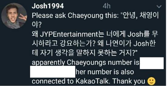 Fan cuồng tiết lộ số điện thoại của thành viên Twice.