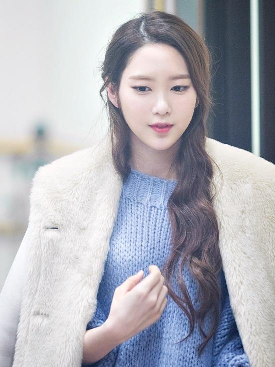 Hình ảnh Ji Ho gợi nhớ đến những nhân vật tiểu thư quyền quý trên màn ảnh Hàn Quốc.