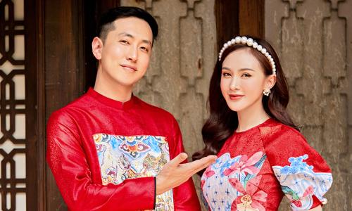 Kelly và bạn trai người Hàn du xuân