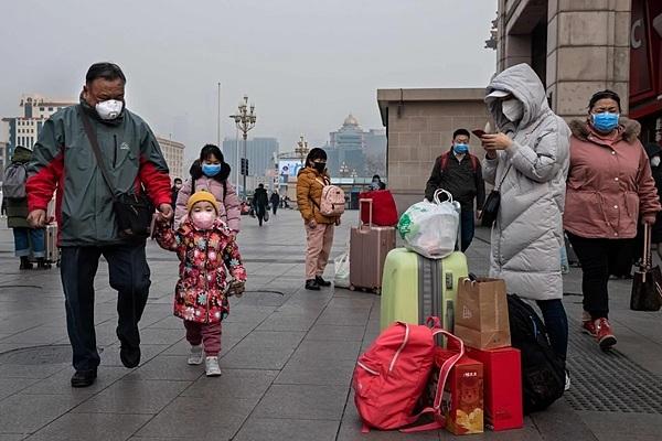Virus Vũ Hán được cảnh báo lây nhiễm trong phạm vi hẹp. Ảnh: AFP