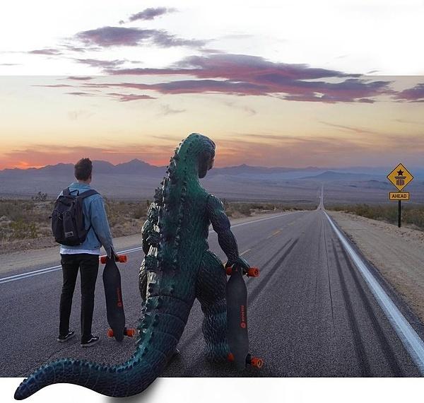 Đi du lịch cùng quái vật Godzilla