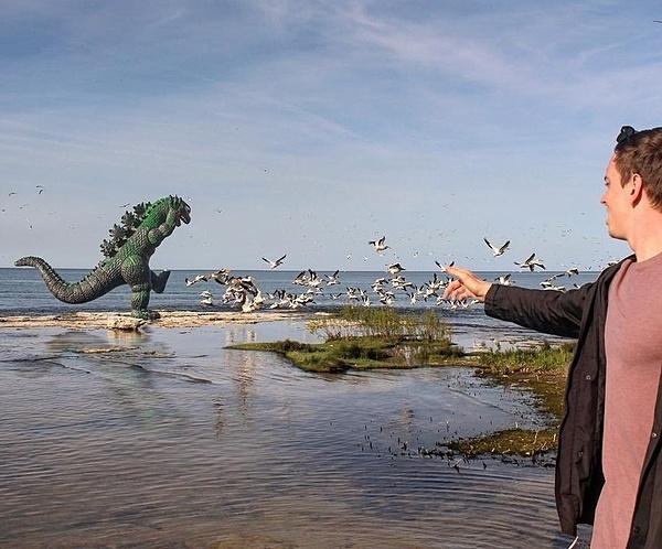 Đi du lịch cùng quái vật Godzilla - 3