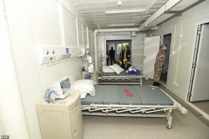 <p> Bệnh viện có khoảng 400 phòng, theo<em> Global Times</em>.</p> <p> </p>