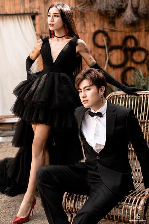 BB Trần chia sẻ bộ ảnh cùng bạn trai và gọi đây là ảnh cưới.