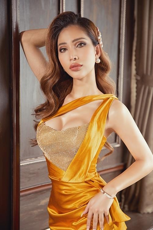 Vicky Trần sẽ tham dự cuộc thi vào tháng 3/2020 tại Thái Lan cùng Bùi Đình Hoài Sa - thí sinh đại diện của Việt Nam.