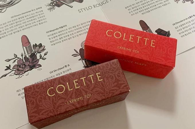 Cả hai màu son mà Colette bắt tay với thành viên Red Velvet đều rất sang chảnh, phù hợp với những ngày lễ hội cuối năm và đầu năm mới. Cũng nhờ sự lăng xê của Yeri, đây là hai màu son bán đắt khách nhất trong bộ sưu tập.