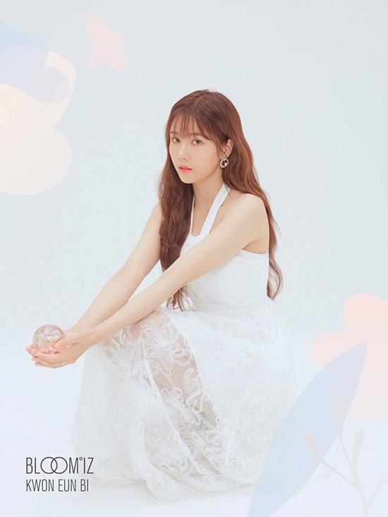 Chị đẹp Kwon Eun Bi có nét đẹp trưởng thành, đầy nữ tính và nhan sắc được so sánh với nàng công chúa bước ra từ truyện cổ tích.