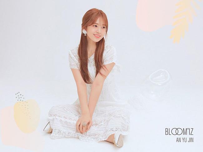 Ahn Yun Jin bỗng trở nên nữ tính, nhẹ nhàng bất ngờ, khác hẳn với vẻ tomboy thường ngày.