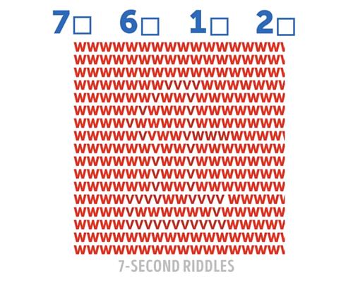 Đố bạn nhìn thấy con số ẩn phía sau - 1