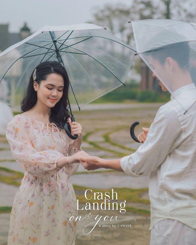 <p> Duy Mạnh - Quỳnh Anh nhận được lời khen bởi độ đẹp đôi.</p>