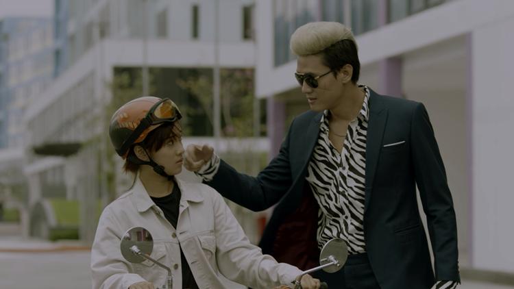 Hoàng Yến Chibi - Quách Ngọc Tuyên trên phim.