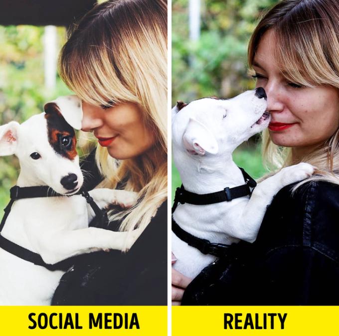 <p> Đừng nghĩ thú cưng luôn hợp tác để chụp ảnh, bởi trăm kiểu mới có một bức ảnh ăn ý.</p>
