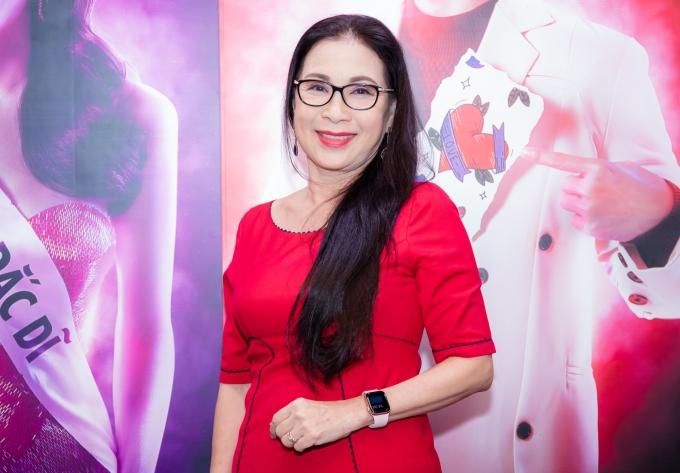 <p> Nghệ sĩ nhân dân Kim Xuân hứng thú khi hợp tác cùng dàn diễn viên trẻ trong phim.</p>