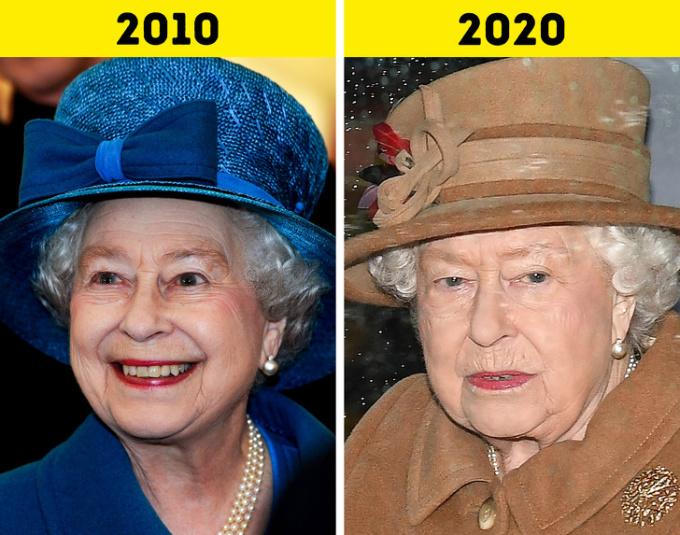 <p> <strong>1. Nữ hoàngElizabeth II</strong></p> <p> Ngày 6/2/2017 kỷ niệm tròn 65 năm Nữ hoàng Anh Elizabeth II lên ngôi. Bà là Nữ hoàng có thời gian tại vị lâu nhất trên thế giới.</p> <p> Năm 2016 là sinh nhật lần thứ 90 của Nữ hoàng. Một năm sau đó, bà và Hoàng thân Philip kỷ niệm ngày cưới bạch kim của họ, trở thành cặp vợ chồng hoàng gia Anh đầu tiên gắn bó với nhau trong suốt 70 năm.</p>