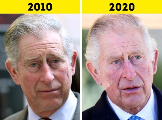 <p> <strong>3.Thái tử Charles</strong></p> <p> Trong thập kỷ qua, Thái tử Charles dần đảm nhiệm các vai trò của Nữ hoàng trong các công việc hoàng gia. Người thừa kế ngai vàng cũng là một nhà hoạt động môi trường. Ông sẽ bước sang tuổi 72 vào tháng 11 năm nay.</p>