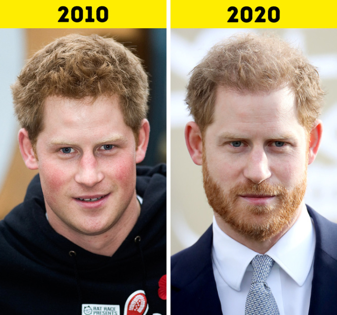 <p> <strong>7. Hoàng tửHarry</strong></p> <p> Hoàng tử Harry gia nhập quân đội hoàng gia vào năm 2006 và giải ngũ năm 2015. Harry được Nữ hoàng trao danh hiệu quân đội cao nhất là Tổng tư lệnh danh dự thủy quân lục chiến hoàng gia tháng 12/2017, kế vị Công tước xứ Edinburgh, Hoàng thân Philip.</p> <p> Năm 2017, Harry lần đầu tiên xuất hiện trước công chúng cùng Meghan Markle. Họ kết hôn vào tháng 5/2018 và có một con trai Archie Harrison Mountbatten-Windsor vào năm sau.</p>