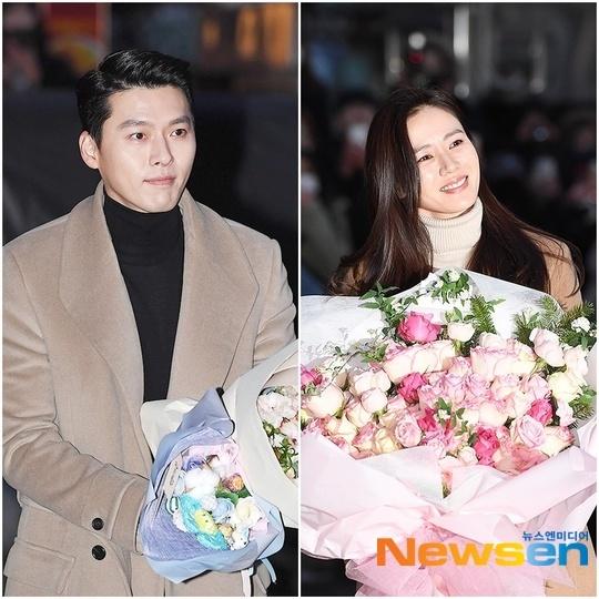 Fan thích thú khi cặp diễn viên chính cùng lựa chọn áo khoác dáng dài màu nâu dự tiệc mừng công của bộ phim. Nhiều shipper của Hyun Bin - Seo Ye Jin tin rằng đây là dấu hiệu hẹn hò ngoài đời thựccủa hai người.