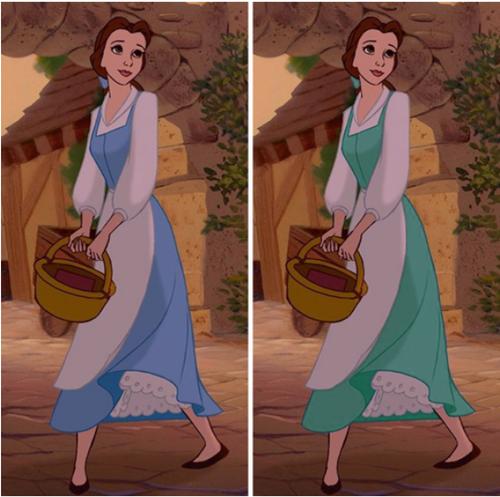 Fan cứng của công chúa Disney mới nhớ được chính xác màu sắc chiếc váy