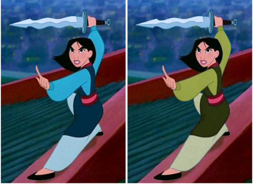 Fan cứng của công chúa Disney mới nhớ được chính xác màu sắc chiếc váy - 1