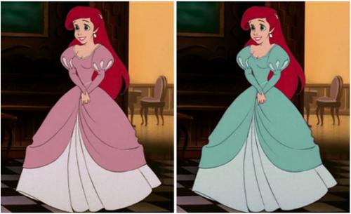 Fan cứng của công chúa Disney mới nhớ được chính xác màu sắc chiếc váy - 2