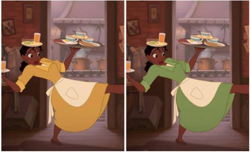 Fan cứng của công chúa Disney mới nhớ được chính xác màu sắc chiếc váy - 3