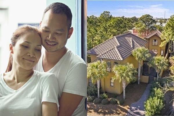 Đầu tháng 8/2019, Hồng Ngọc đón tuổi mới bên chồng và ba con trong căn biệt thự mới xây bên bờ biển Florida (Mỹ). Ngôi nhà được hoàn thiện cách đó không lâu, là quà ông xã dành cho Hồng Ngọc nhân dịp sinh nhật tuổi 41. Biệt thự ven biển rộng 987 m2 gồm hai bể bơi, 6 phòng tắm, 6 phòng ngủ, 2 phòng khách và khoảng sân giải trí rộng rãi. Ngôi nhà là nơi Hồng Ngọc và gia đình nghỉ dưỡng. Thi thoảng, vợ chồng cô cho khách du lịch thuê. Ông xã Hồng Ngọc là người giám sát, thi công biệt thự.