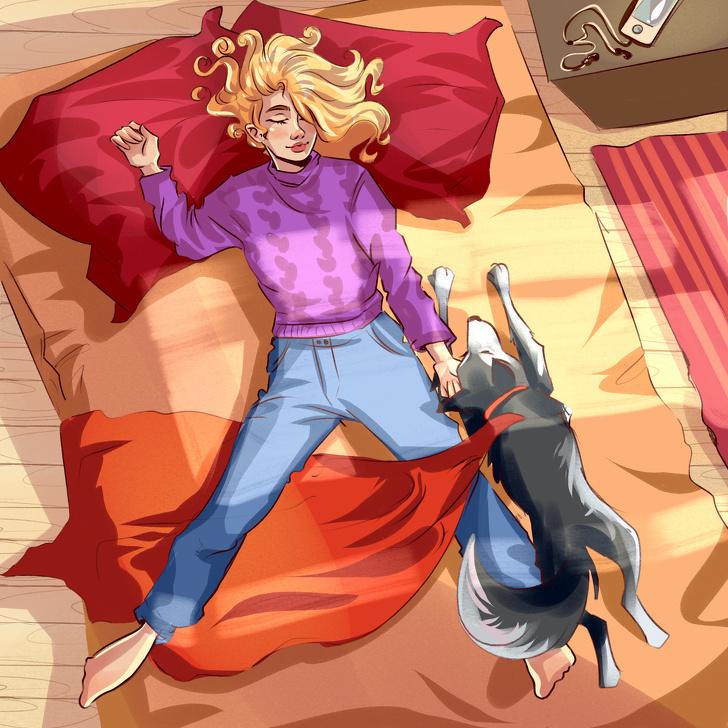 Dáng ngủ của thú cưng bộc lộ cảm xúc - 8