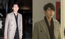 Hyun Bin vẫn sang dù mặc lại áo khoác 9 năm trước