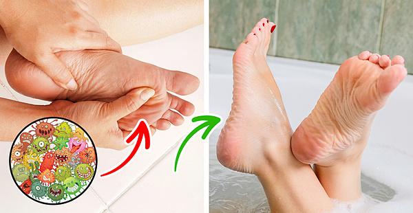 Rửa chân: không chỉ để cho sạch