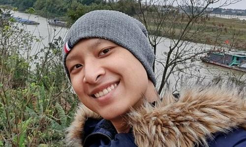 Người mẫu Anh Vũ lạc quan chiến đấu ung thư
