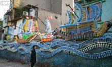 Bãi rác Phúc Tân thành điểm check-in nghệ thuật