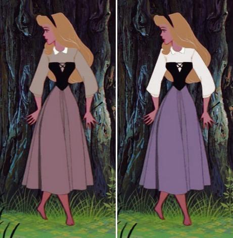 Fan cứng của công chúa Disney mới nhớ được màu sắc chiếc váy (2) - 3