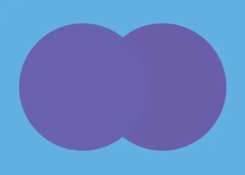 Hình tròn nào ở bên trên?