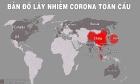 Bản đồ dịch nCoV 20/2: Hơn 16.000 người bình phục